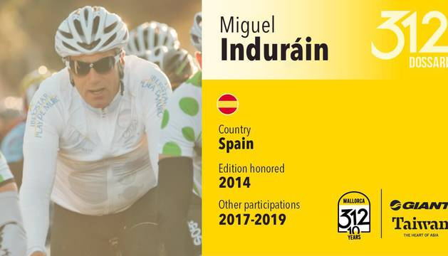 Miguel Induráin, invitado a la prueba.