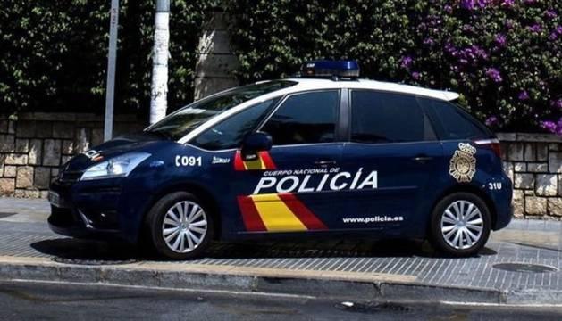 Imagen de un coche de la Policía Nacional