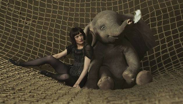 Eva Green y Colin Farrell protagonizan Dumbo, el remake que dirige Tim Burton