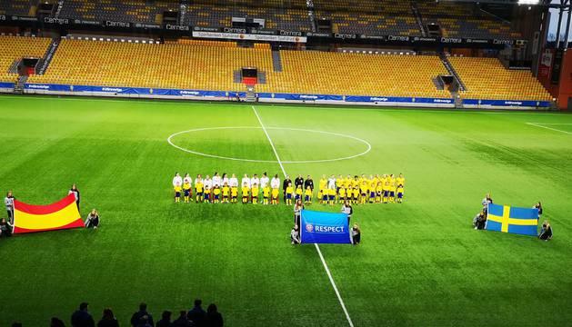 Un gol de Sara Carrillo (Osasuna) da el triunfo a España sub-17 contra Suecia