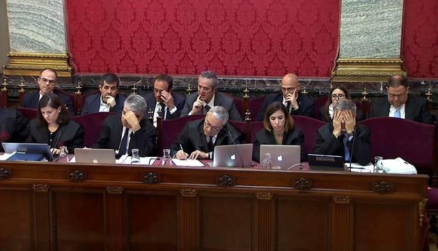 Foto nueva sesión del juicio del