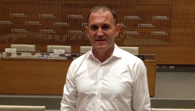 José Roldán, coordinador de trasplantes de Navarra