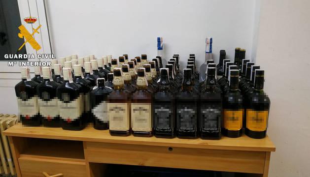 Detenido por el robo de más de 2.000 euros en bebidas alcohólicas en Dantxarinea