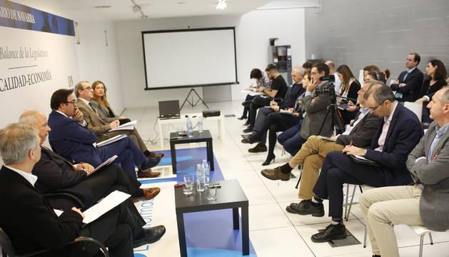 El foro sobre fiscalidad, este miércoles, en Diario de Navarra