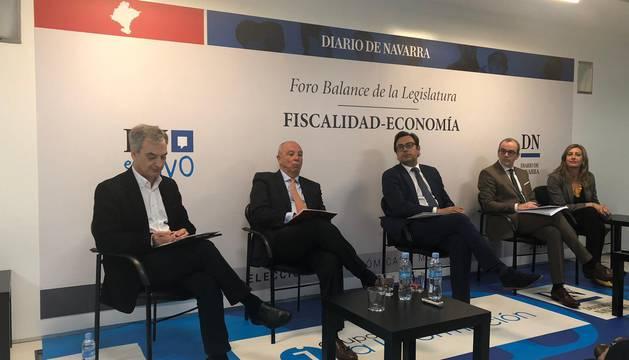 Sigue el minuto a minuto del debate sobre impuestos y  economía de Diario de Navarra