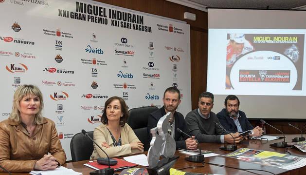 El G.P. Induráin homenajeará a Eusebio Unzué y su equipo por sus 40 años de actividad