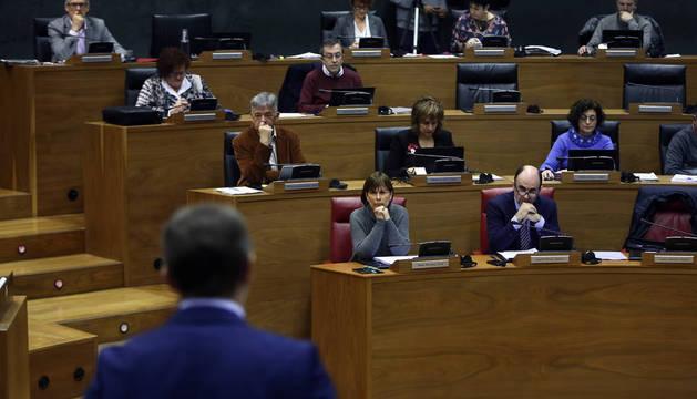 El salón de plenos acogerá hoy el debate del proyecto de ley.