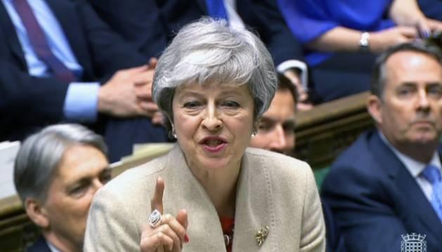 El Parlamento británico rechaza por tercera vez el acuerdo de salida del 'brexit'
