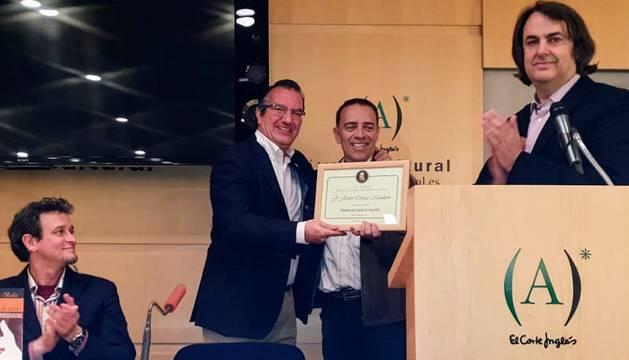 Jesús Javier Corpas, premiado con un accésit del Premio Wilkie Collins