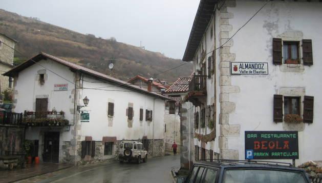 En una imagen de archivo, detalle de la travesía de Almandoz.