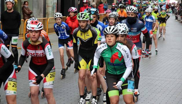 Fotos de la I Roller media maratón Puentes de Tudela