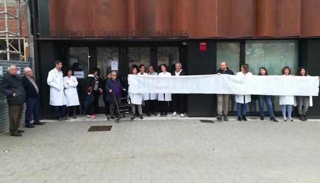 La zona de salud de Lodosa solicita mejoras en la Atención Primaria