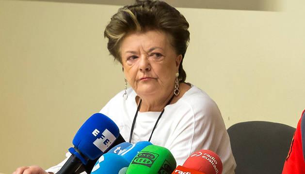 La consejera de Interior, María José Beaumont.