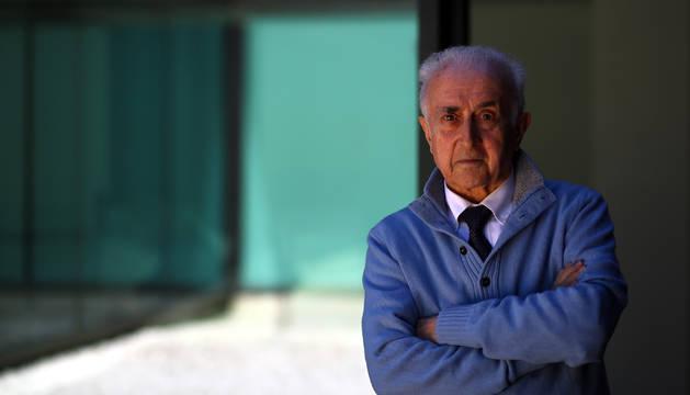 José Moyá, barcelonés de 81 años, impartió una conferencia sobre desarrollo emocional del niño.
