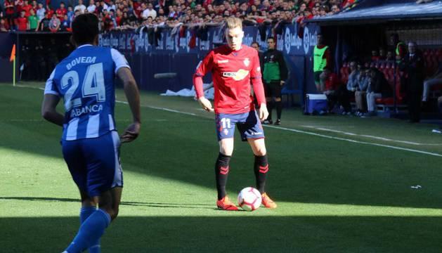 Imágenes del partido disputado en El Sadar.