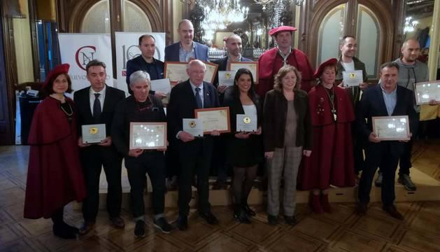 Vinos premiados en el XXVIII Concurso de la Cofradía del Vino de Navarra