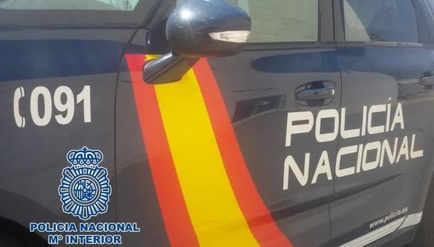 Imagen de un coche de Policía Nacional.