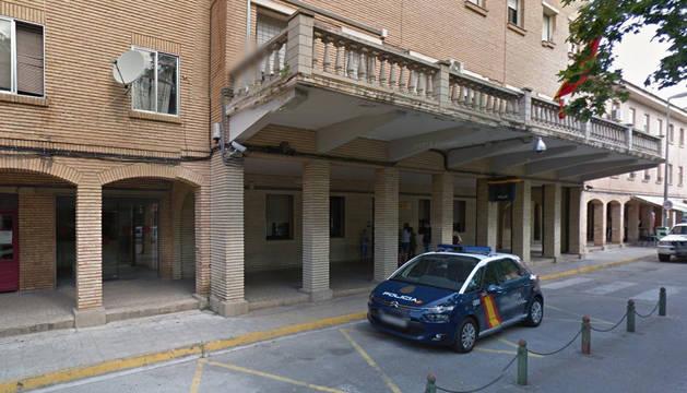 Comisaría de la Policía Nacional en Tudela.