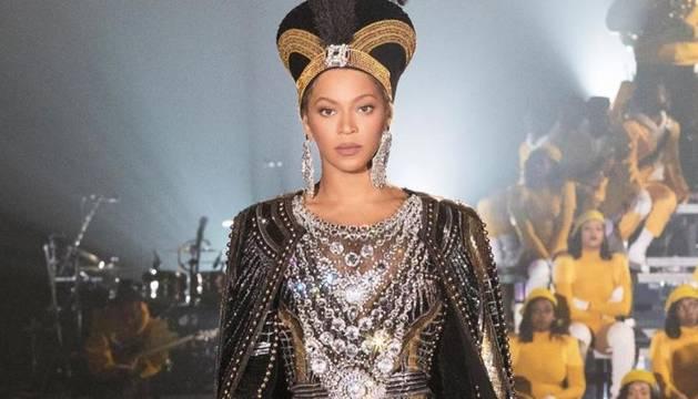foto de Actuación de Beyoncé en el festival Coachella 2018.