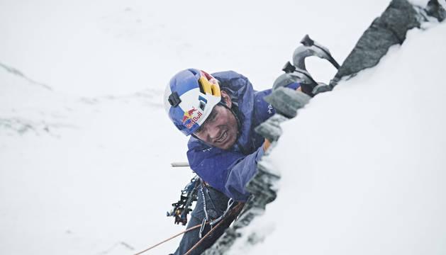 El austríaco David Lama, uno de los alpinistas desaparecidos.