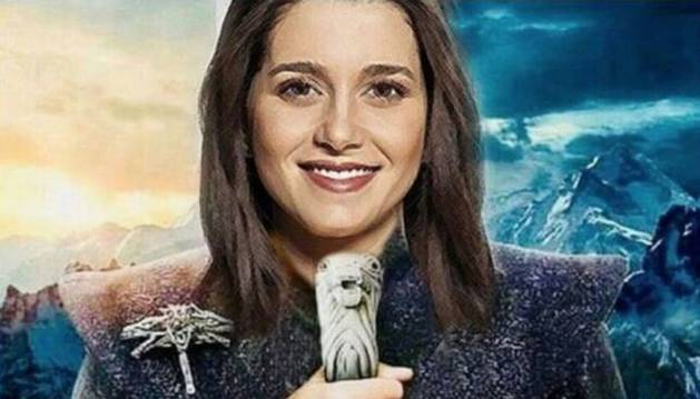 Foto de Ciudadanos ha lanzado una campaña para Instagram con Inés Arrimadas convertida en Daenerys Targaryen.