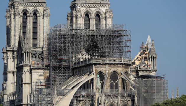 La Policía francesa investiga los montacargas de las obras de Notre Dame