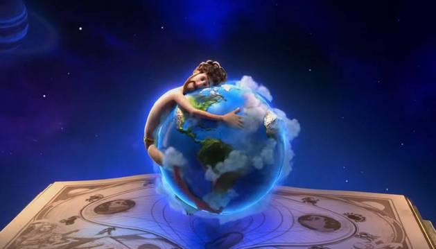 Imagen de una parte del videoclip del tema 'Earth'.
