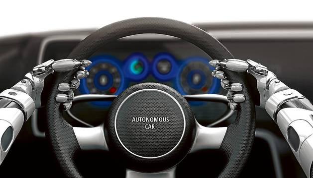 Imagen representativa de un vehículo conducido por una máquina.