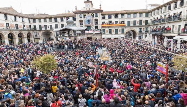 Fotos de la celebración de la Bajada del Ángel 2019 de Tudela
