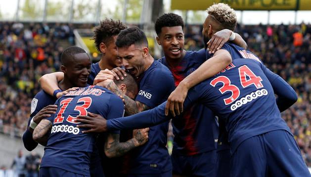 El PSG se proclama campeón de Francia antes de jugar frente al Mónaco