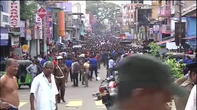 Atentado múltiple con seis bombas en Sri Lanka