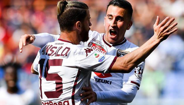 Álex Berenguer, protagonista en el gol del Torino esta jornada.