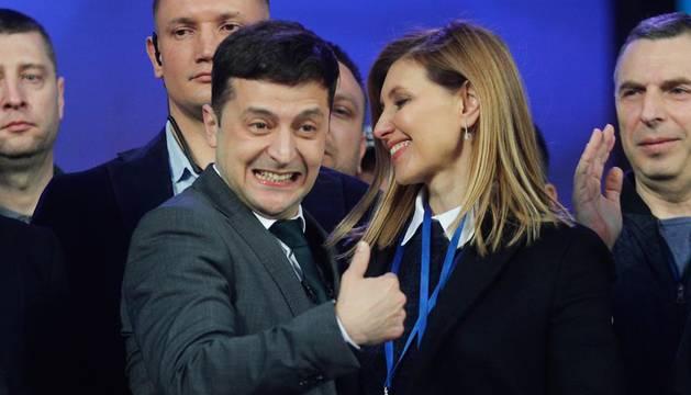 Vladímir Zelenski, ganador de las elecciones en Ucrania
