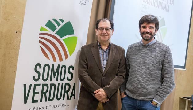 De izquierda a derecha: Abel Casado y Eneko Larrarte.