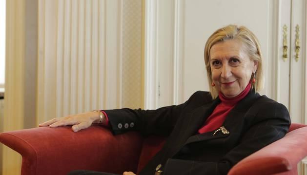 Imagen de la fundadora de UPyD, Rosa Díez.