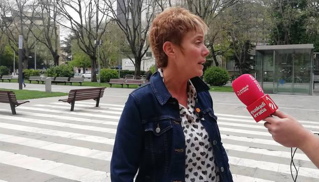 foto de La cabeza de lista de EH Bildu al Congreso por Navarra, Bel Pozueta