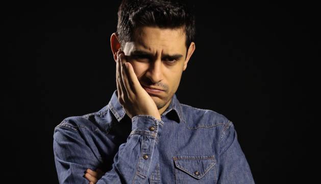 El cómico David Suárez.