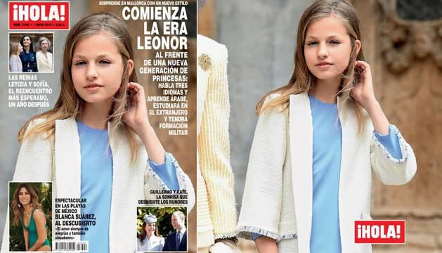 Comienza la era Leonor, la princesa convertida en adolescente