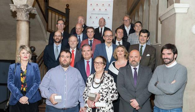 Ina Sorabilla y Luis Salcedo, Premios Academia Navarra de Gastronomía