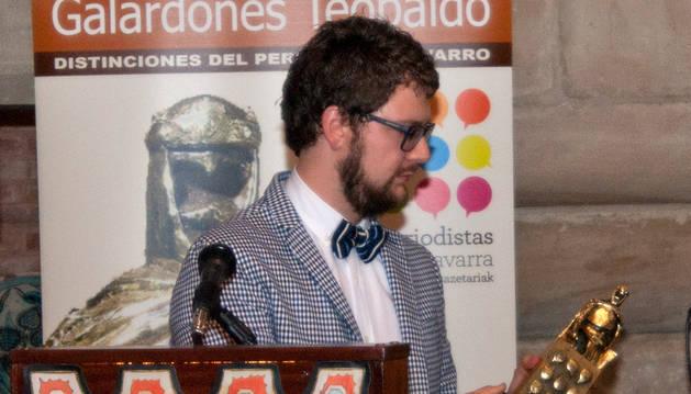 foto de Mikel Arilla recibió en 2017 el Premio Teobaldo de periodismo