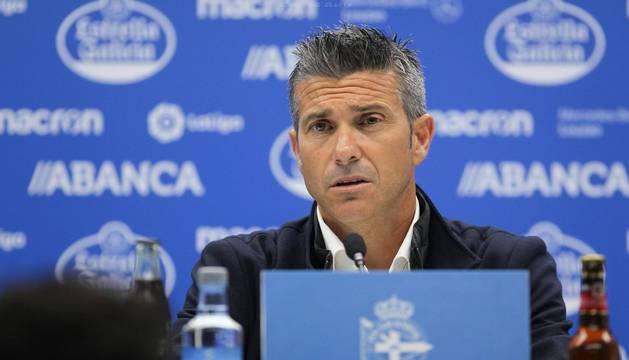 Martí, entrenador del Deportivo.