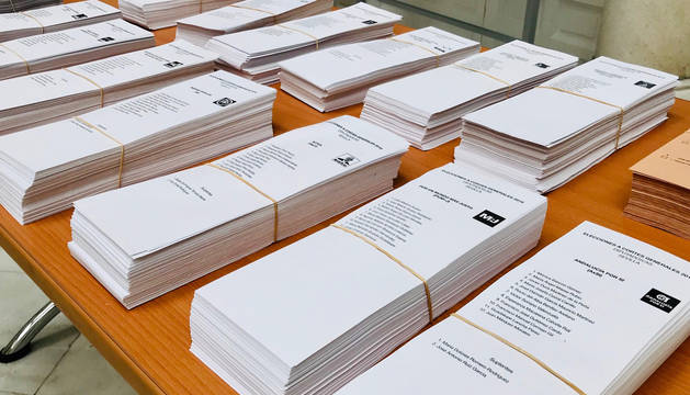 Un total de 507.094 navarros, llamados a las urnas para elegir a cinco diputados y cuatro senadores