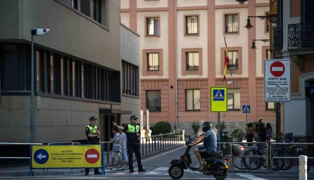 El corte de la calle José Alonso provocó molestias importantes en la ciudadanía.