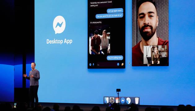 foto de El consejero delegado y cofundador de Facebook, Mark Zuckerberg, fue el encargado de revelar los cambios de la app