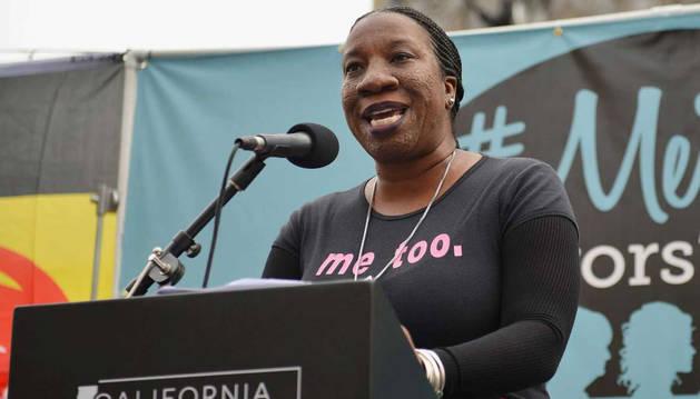 foto de La fundadora del movimiento feminista #MeToo, Tarana Burke