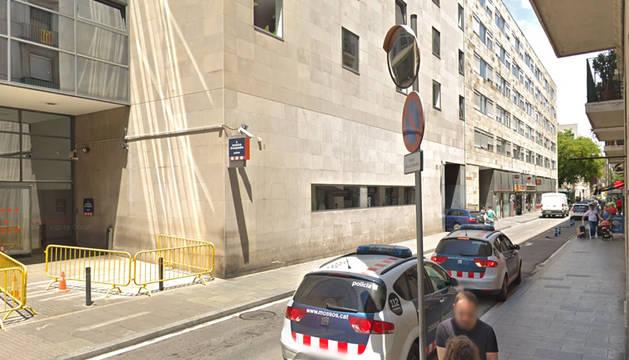 Comisaría de Nou de la Rambla, en el Raval de Barcelona.