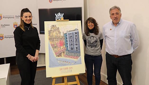 Cartel ganador San Fermín 2019.