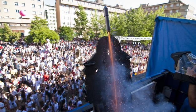 Barañáin inicia el proceso de elección para determinar quién lanzará el cohete