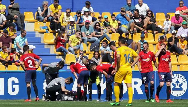 Galería de imágenes del partido disputado este sábado en el estadio de Santo Domingo.