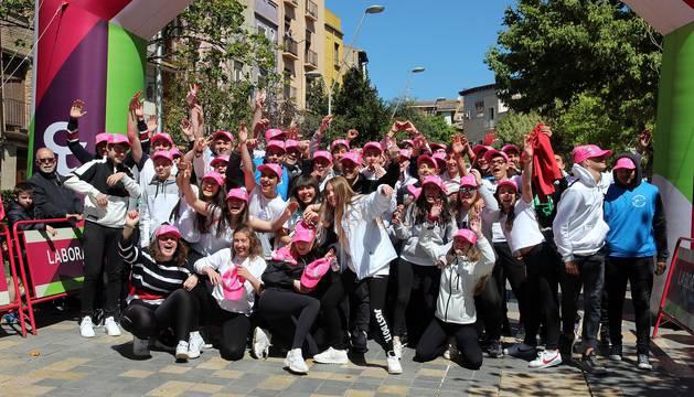Imágenes de la Vuelta a la Mejana de Tudela